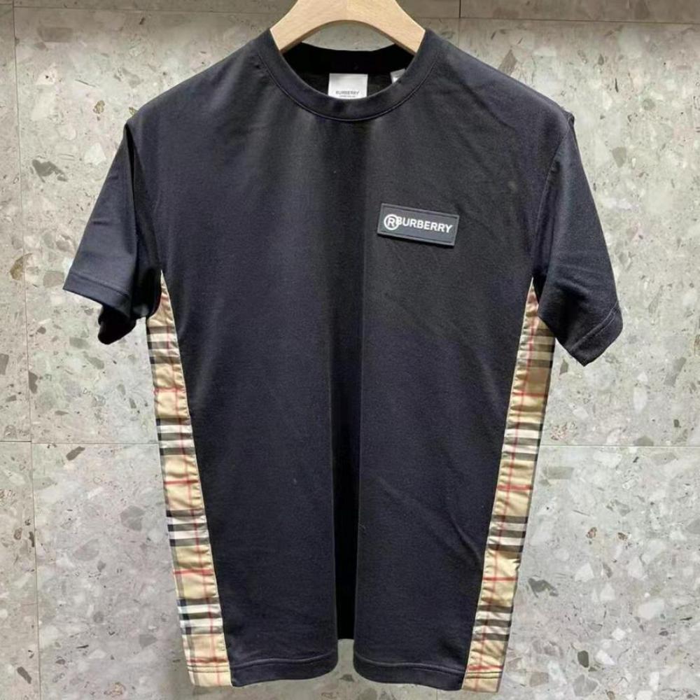 【国现秒发】Burberry 巴宝莉 Vintage 格纹 宽松 T恤 短袖