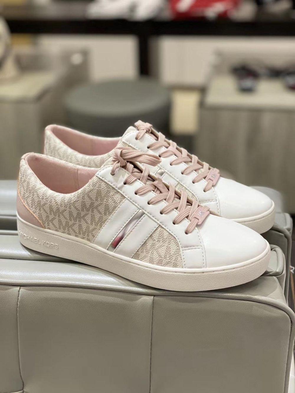 Michael Kors/MK女士板鞋 系带休闲鞋 小白鞋滑板鞋 女休闲鞋子