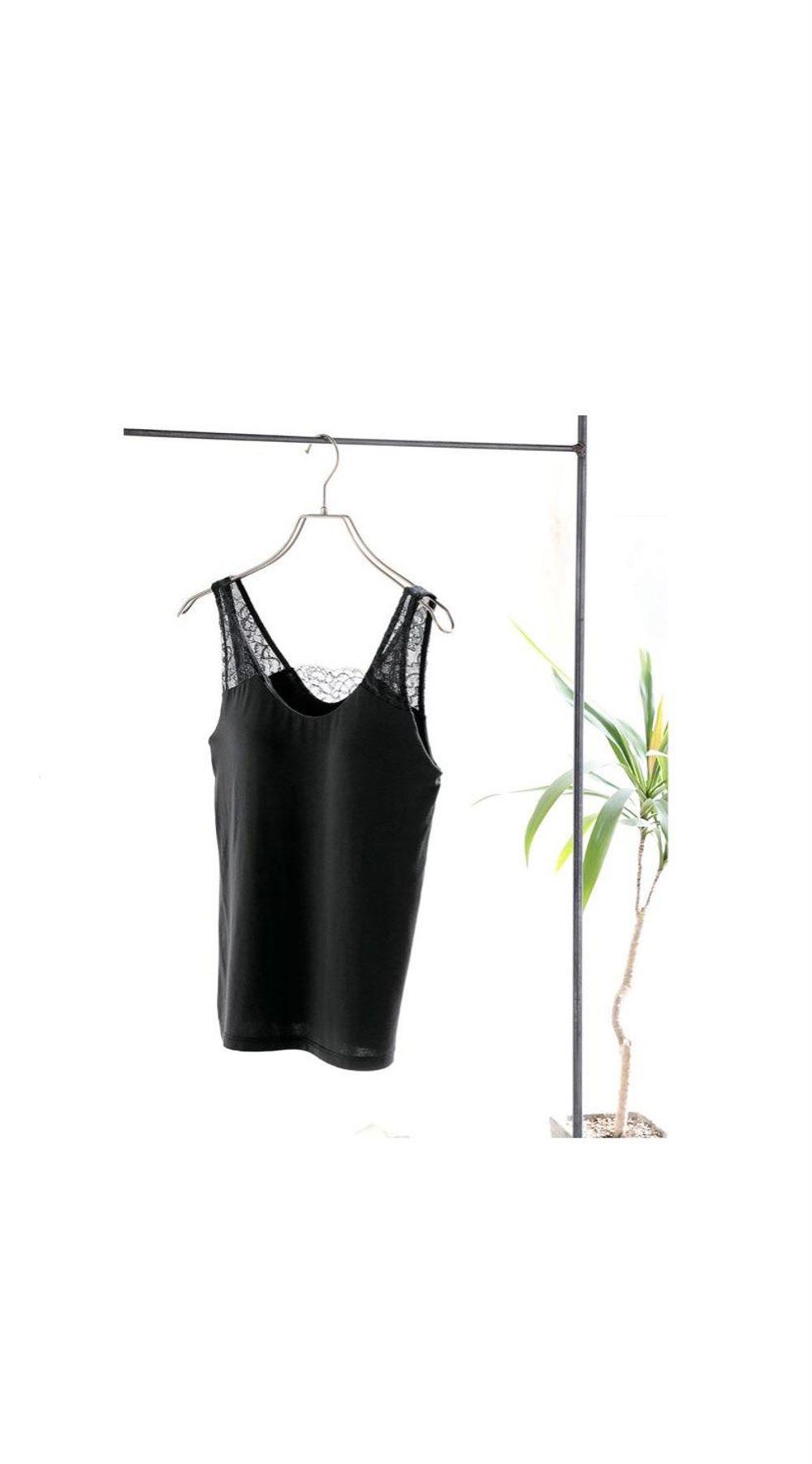 日本直邮华歌尔Wing DATE 系列无袖背心打底衫内衬无钢圈有型胸罩