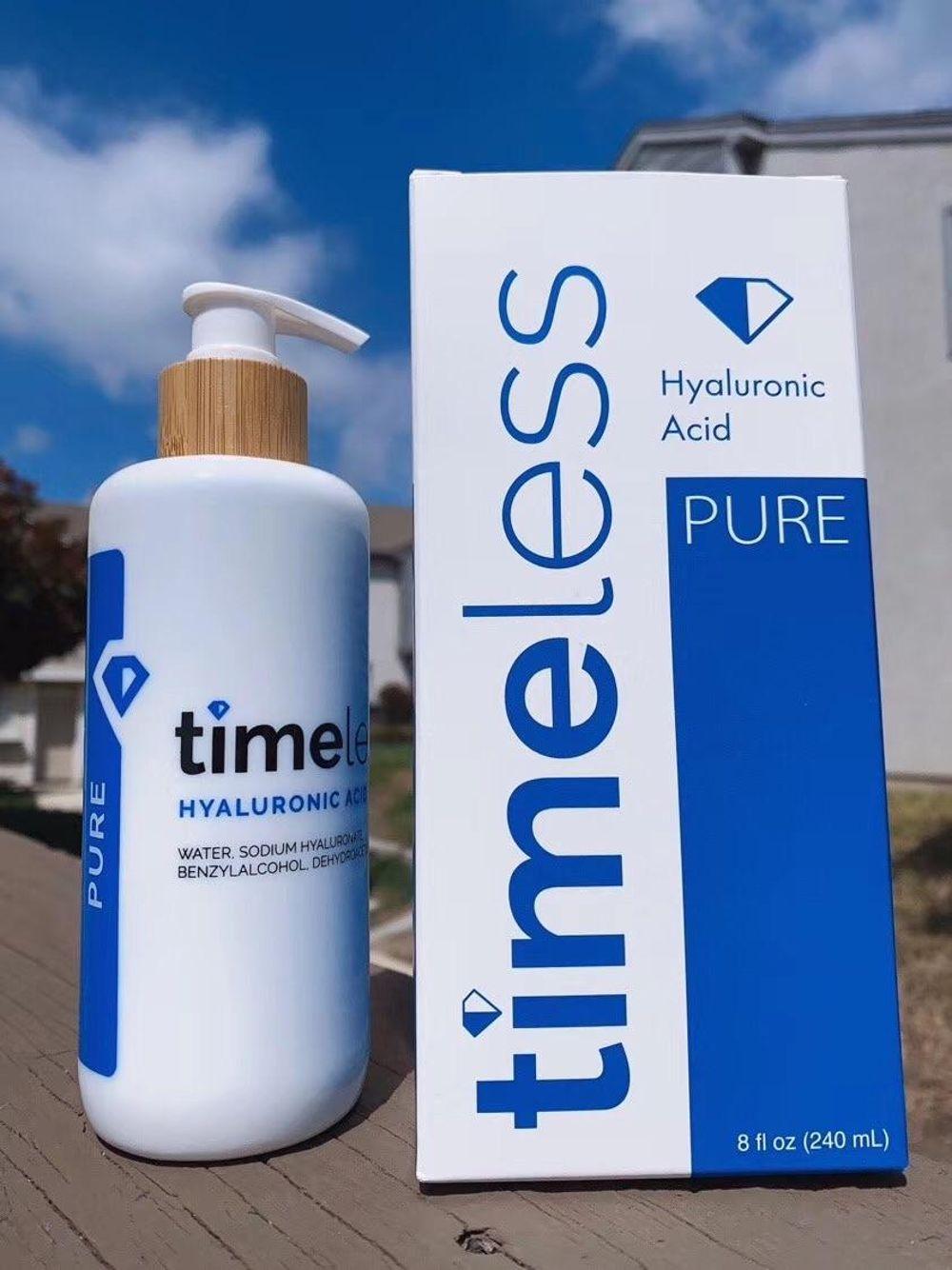 Timeless/HA高浓度玻尿酸精华原液高保湿补水240ml